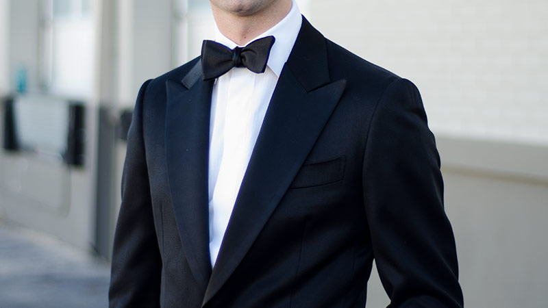 Black Tie Dress Code - Scarf, Formal Overcoat, and Gloves