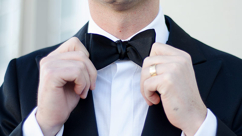 Black Tie Dress Code - Bow Tie