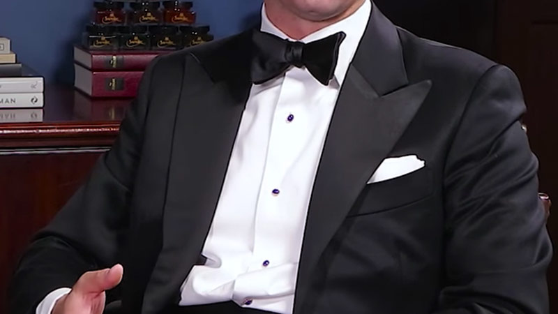 Black Tie Dress Code - Pocket Square