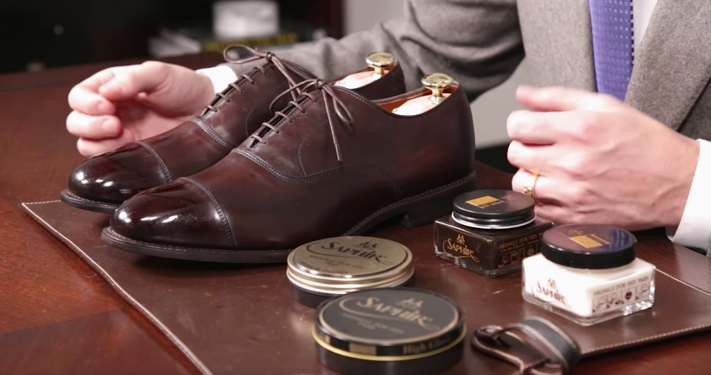 Allen Edmonds Shoe Care - Completed Polish