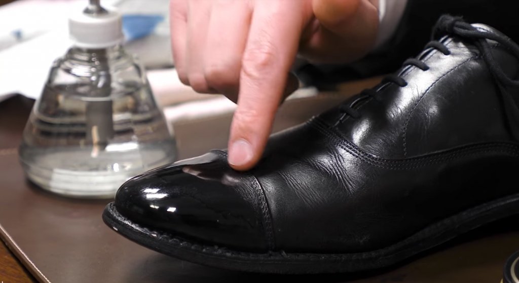 How to Mirror Shine Your Shoes with a Blowdryer - Final Look