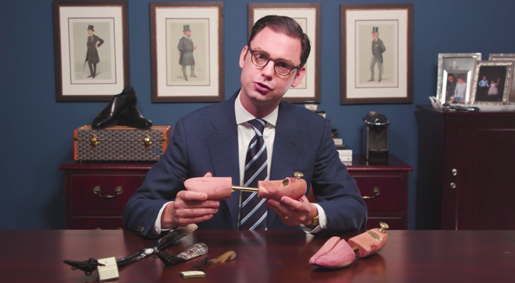 How to Prevent Creases in Leather Dress Shoes - Shoe Tree