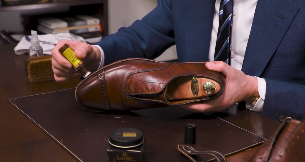 Step 5 - How to Shine Allen Edmonds Fifth Avenue