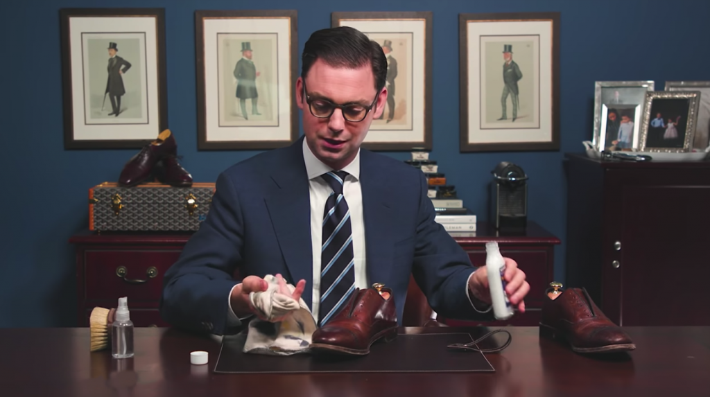 Step 1 - How to Shine Allen Edmonds Fifth Avenue