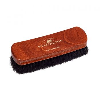 Medium Wellington Horsehair Shoe Polishing Brush