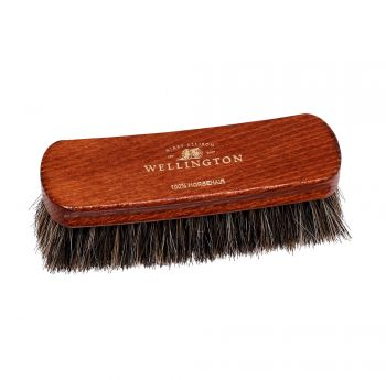 Deluxe Wellington Horsehair Buffing Brush