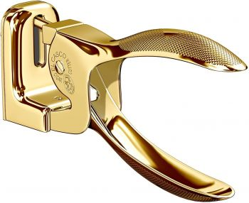 El Casco 23kt Gold Plated Cigar Cutter