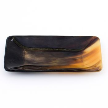 Polished Oxhorn Coin Tray
