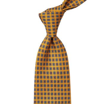 Sovereign Grade Amber Daisy 36oz Printed Silk Tie