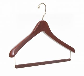Luxury Wooden Travel Hanger
