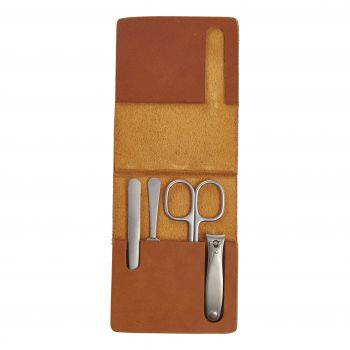 Muhle Leather Manicure Set