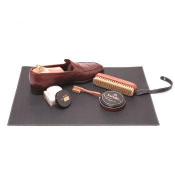 Leather Shoeshine Carpet