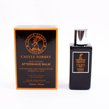 Castle Forbes Cedarwood and Sandalwood Oil Aftershave Balm