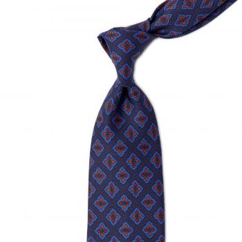 Sovereign Grade Navy Ancient Madder Floral Tie