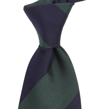 Sovereign Grade Midnight/Forest Household Guards (Royal Artillery) Tie