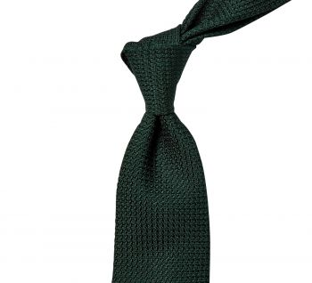 Sovereign Grade Emerald Grenadine Grossa Tie