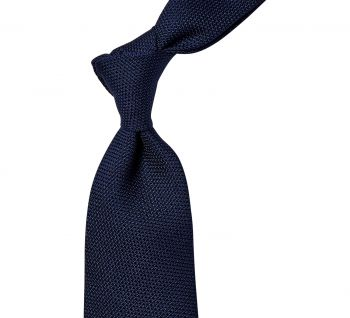 Sovereign Grade Grenadine Fina Navy Tie