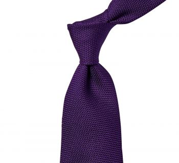 Sovereign Grade Grenadine Fina Purple Tie