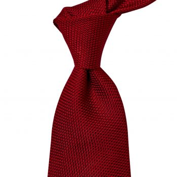 Sovereign Grade Grenadine Fina Red Tie