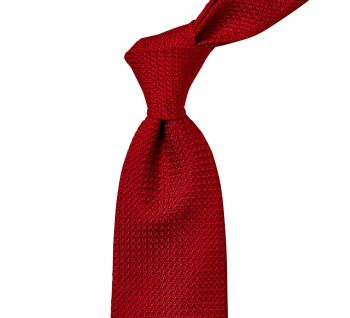 Sovereign Grade Grenadine Grossa Red Tie