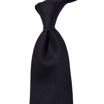 Sovereign Grade Black Grenadine Fina Tie