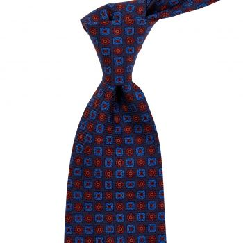 Sovereign Grade Navy Ancient Madder Tie