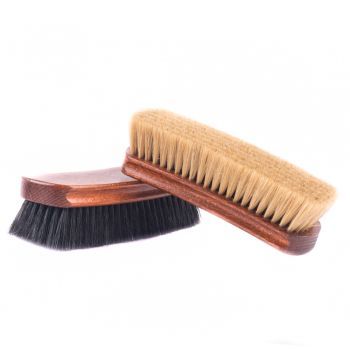 Deluxe Wellington Pig Bristle Shoe Polishing Brush