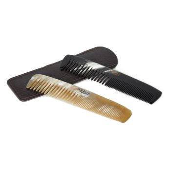 Oxhorn Double Tooth Pocket Comb