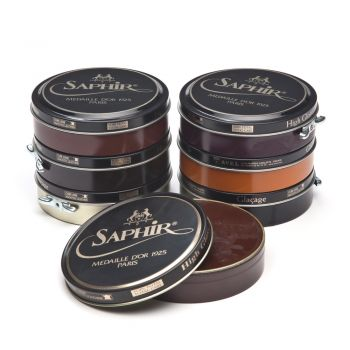 Saphir Pate de Luxe Wax Shoe Polish 100 ml