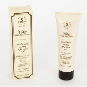 Taylor of Old Bond Street Sandalwood Luxury Aftershvae Gel