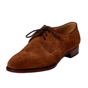 TLB Medium Brown Derby 10UK
