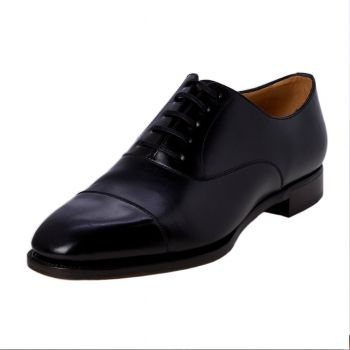 TLB GMTO Black Captoe Oxford 11.5 Wide