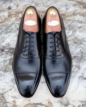 TLB GMTO Black Captoe Oxford