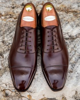 TLB GMTO Dark Brown Captoe Oxford