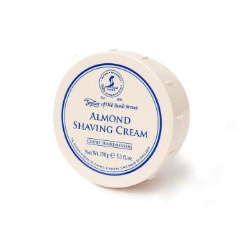Almond Shaving Cream Bowl by Taylor of Old Bond Street