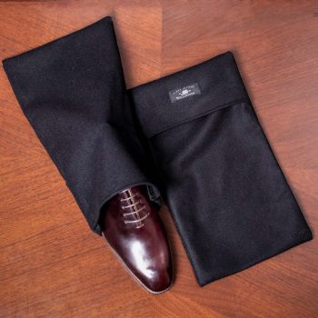 Wellington 100% Wool Melton Deluxe Shoe Bag (Pair)