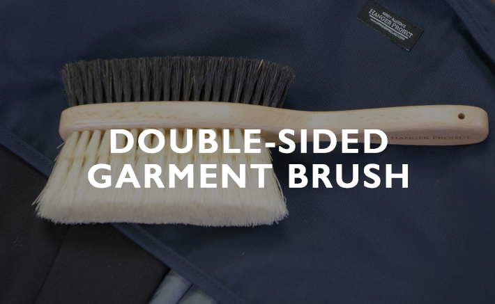 Double-Sided Garment Brush
