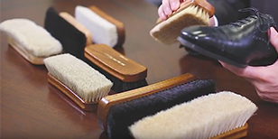 Shoe Polishing Brush Guide