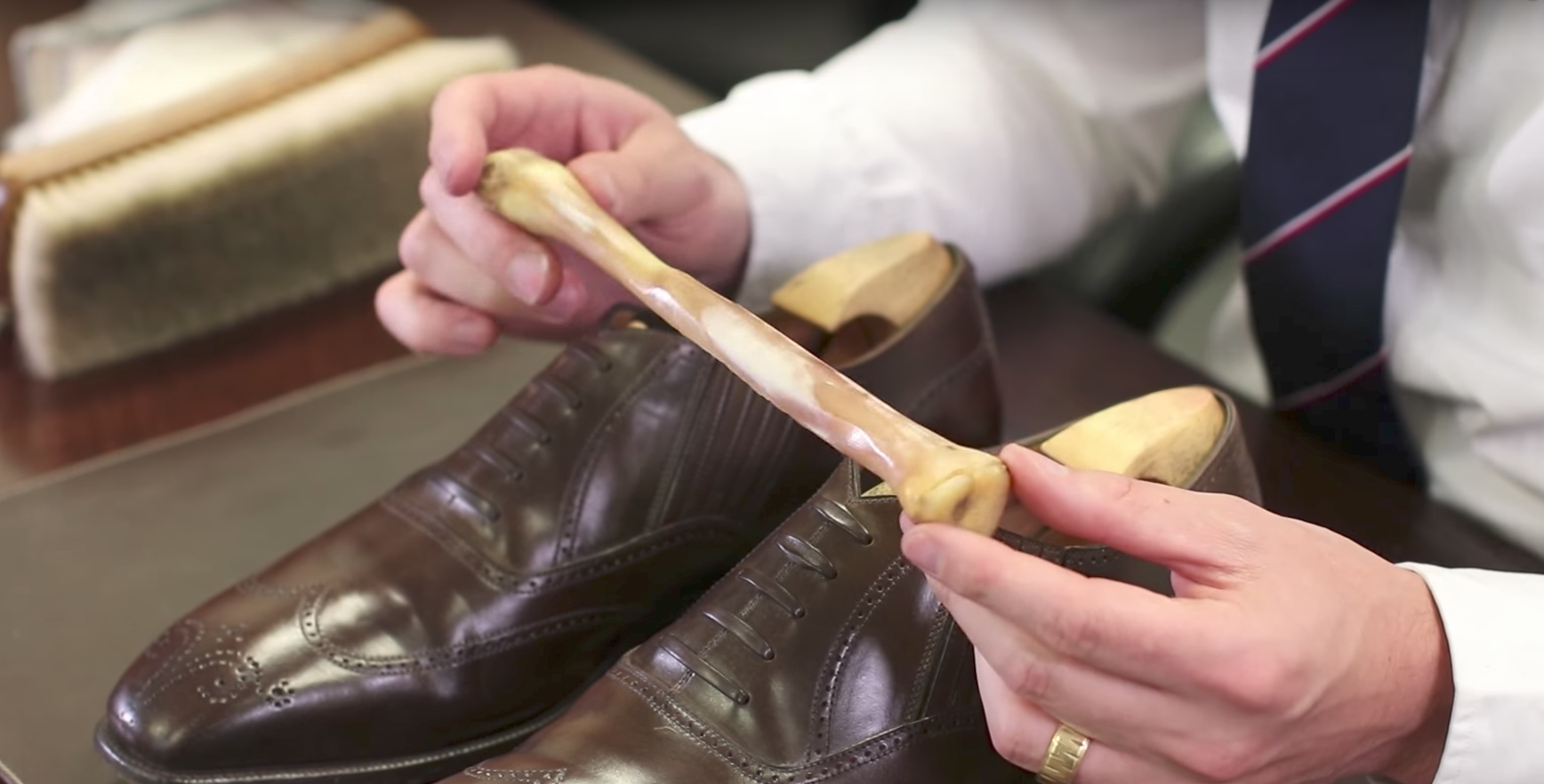 Cordovan Shoe Shine