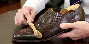 How to Polish Cordovan Leather Shoes