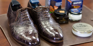 How to Polish Reptile Leather Shoes