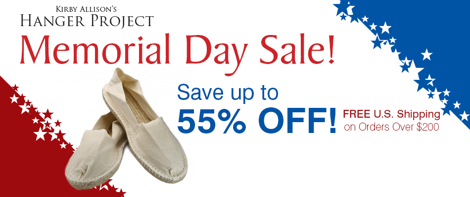 Memorial DAy Sale - 55% Off