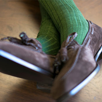 Over-the-Calf Dress Socks
