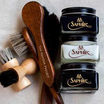 Saphir Shoe Shine Kits