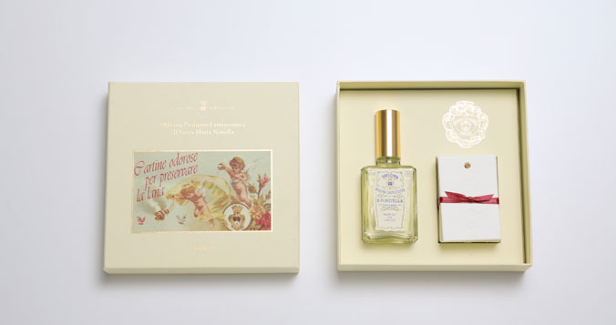 Santa Maria Novella Scented Cards for Wool