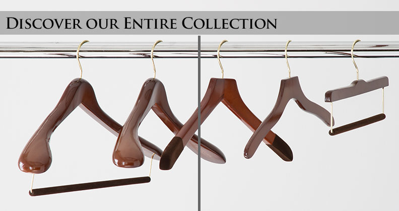 Our Entire Collection of Luxury Men's Hangers
