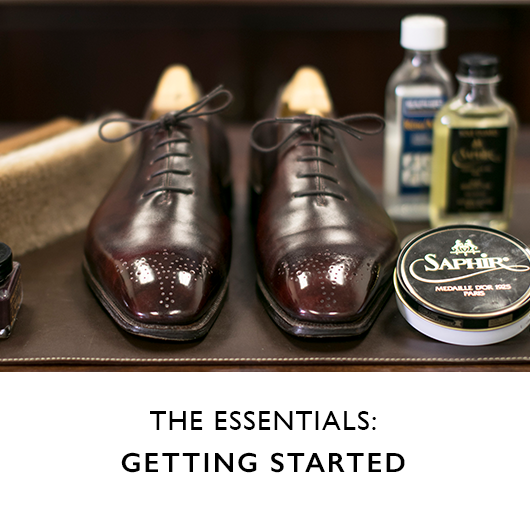 Getting Started with Shoe Care