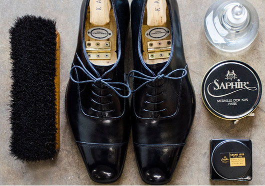 Luxury Shoe Shine Service
