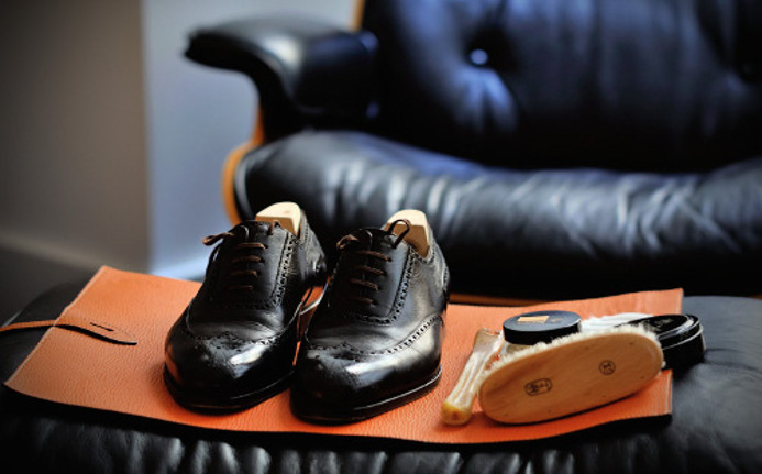 Presidential Shoeshine
