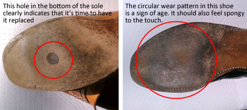 Replacing Insoles In Dress Shoes